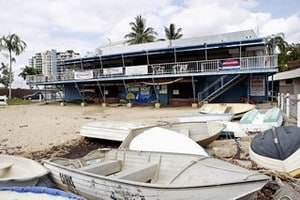 Queensland Government sold the sale of Cairns Yacht Club.