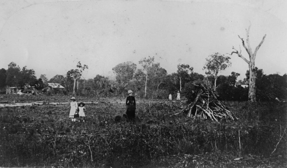 Early landowners in Cairns, Far North Queensland (1886)