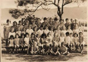 Hambledon State School, Far North Queensland (Rob in back row fourth from left)