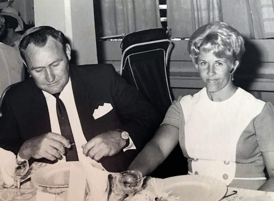 Tom Pyne and Marion Pyne