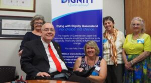 Free from ALP - here supporting dying with dignity