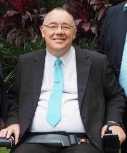 Rob Pyne (quadriplegic and wheelchair user)