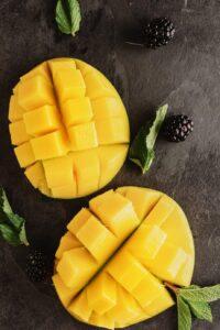 Tropical Gardening - the mango fruit.
