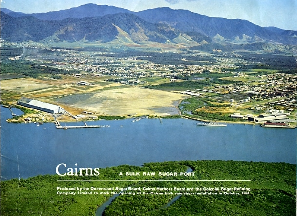 Cairns history pictures Cairns Port 1950s