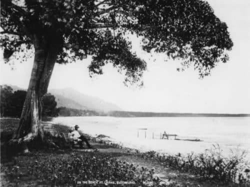 Cairns Esplanade picture in 1893