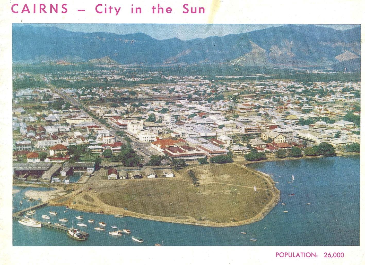 Cairns History Esplanade 1960s