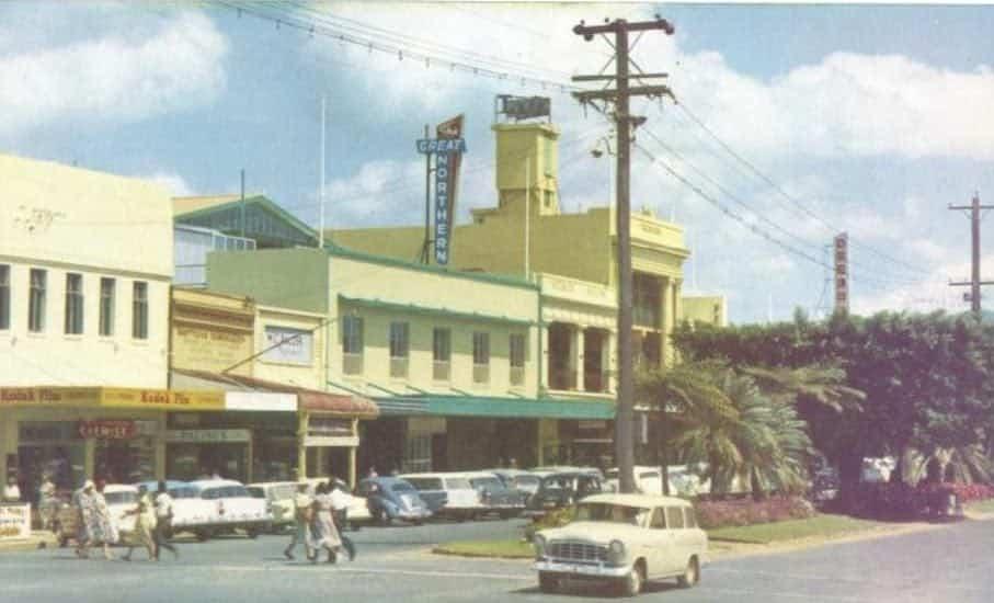Cairns history pics Abbott Street