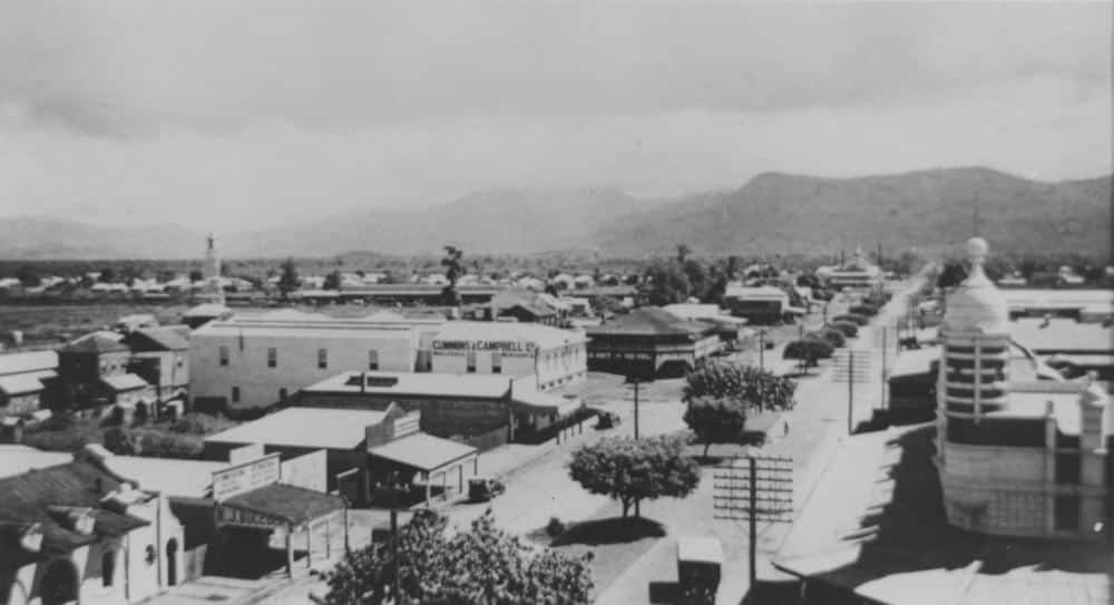 Cairns history pics Spence Street 1934