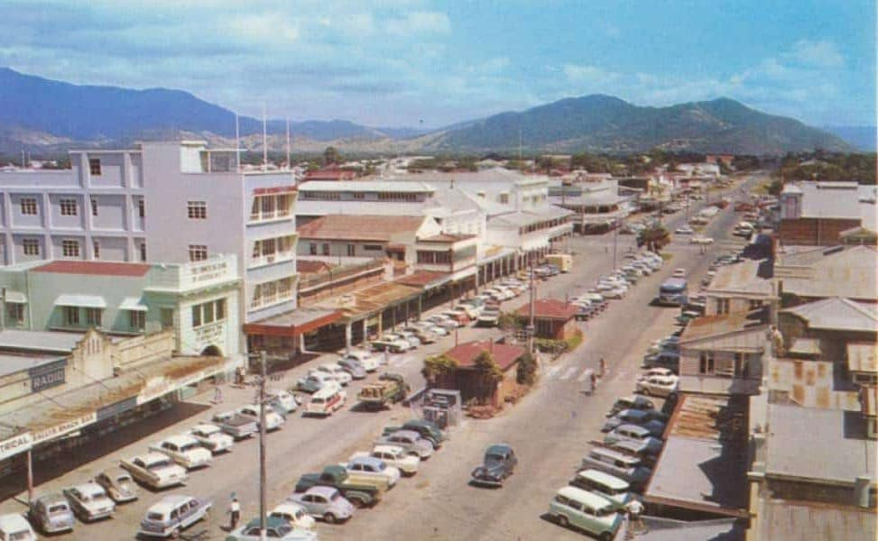 Cairns history pictures Lake Street 1960s