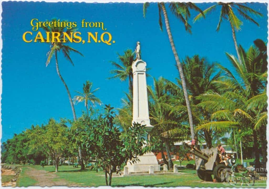 Cairns History Pictures Postcard 1970s
