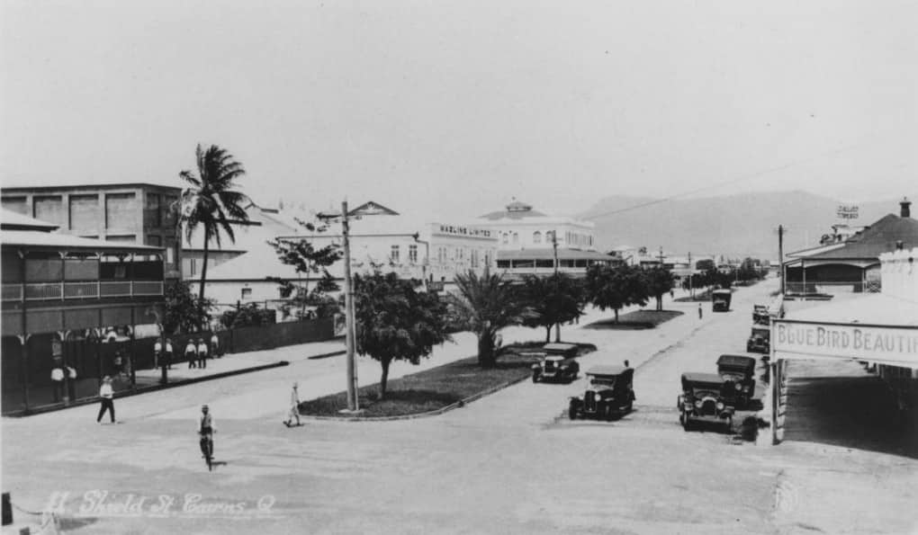 Cairns history pictures Shields Street 1931